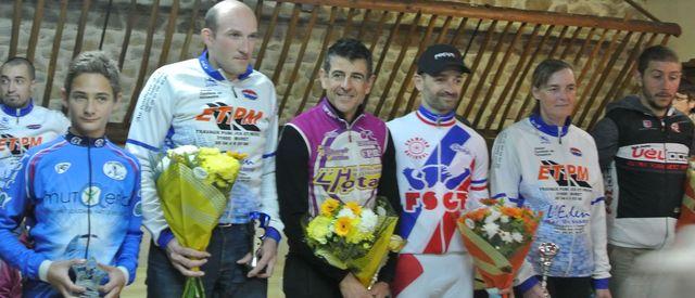podium cyclo Ste Croix