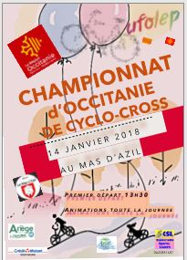 programme du championnat occitanie de cyclo-cros 2018
