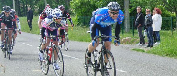 seconde place pour Jérôme au sprint final