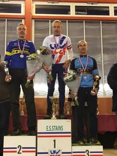 Alain double champion de France
